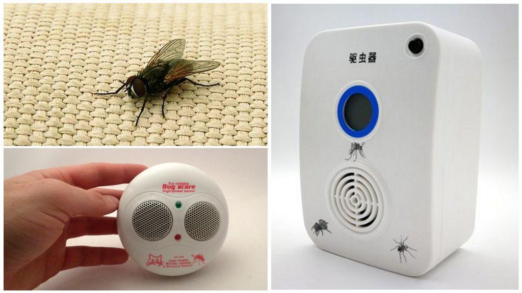 Ультразвуковые отпугиватели мух