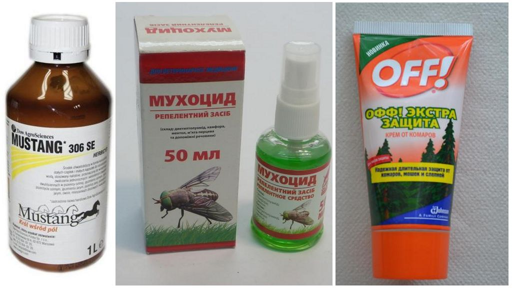 Покупные инсектициды от мух